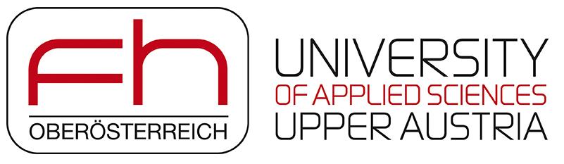 FH Oberösterreich Logo national mit University